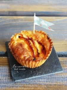 muffin nectarine lavande